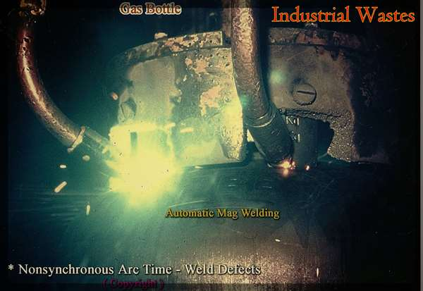 Failure Analysis - Industrial Wastes - Automatic Mag Welding