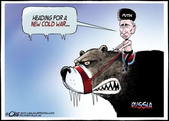 Heading For a new COLD WAR