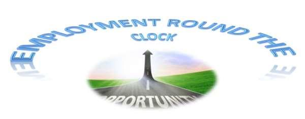 Employment - round the Clock