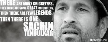 A Tribute To The Born Legend : Sachin Tendulkar
