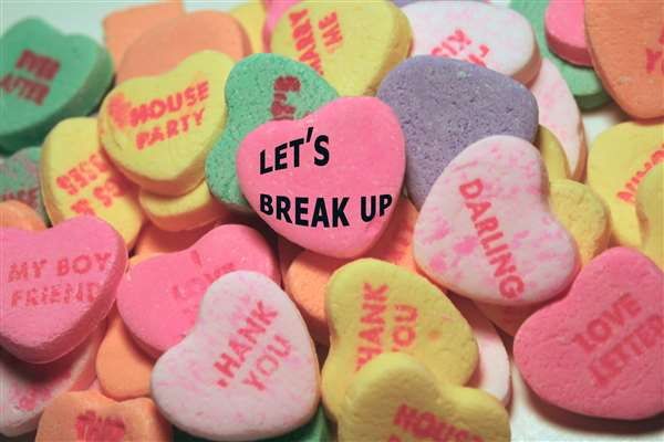 """""""HOW TO CONVEY YOUR BREAK-UP DECISION TO YOUR PARTNER ?"""""""