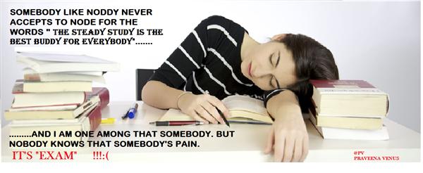 Oh my studies!!!