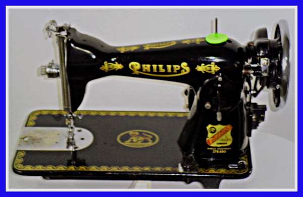 Restoration of Antique Sewing Machine