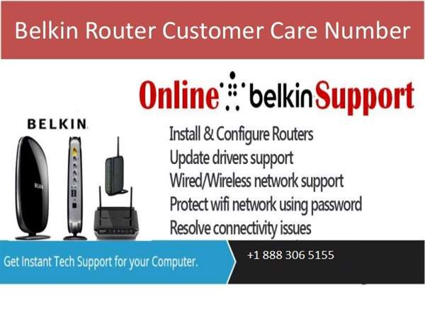 Belkin Router Tech Support For Online Router Support