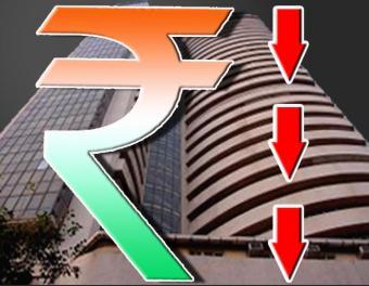 Falling Rupee Rising $
