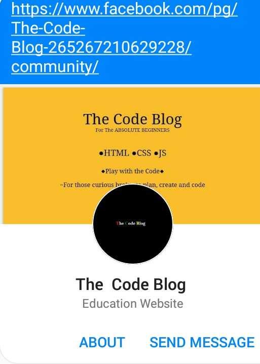 The Code blog