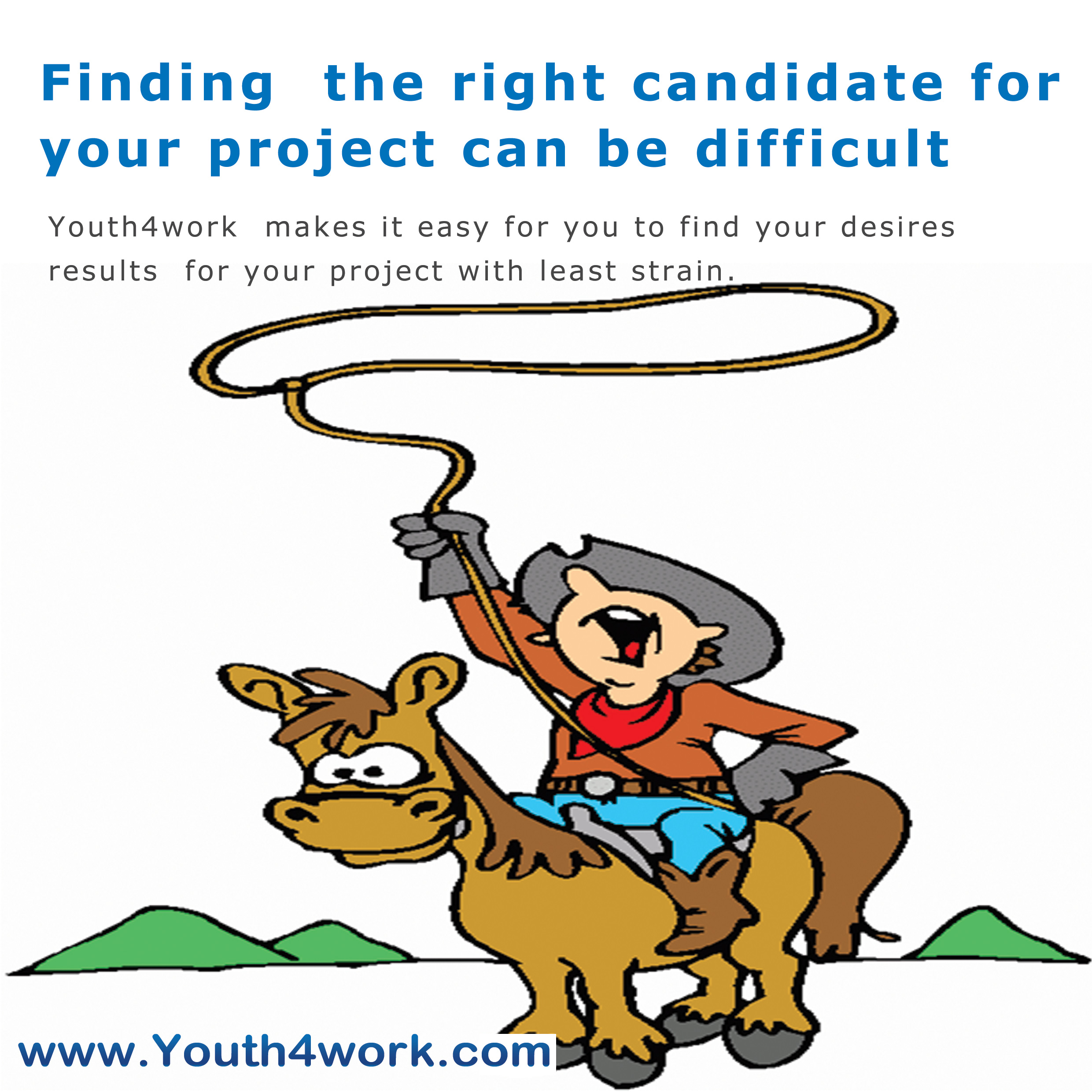 Finding the right candidate for your project can be difficult
