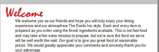 The Exotic Inn