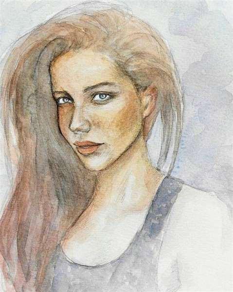 Portrait in Watercolour