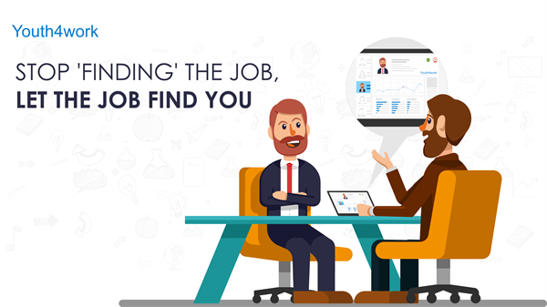 Stop 'finding' the job, let the job find you