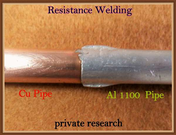 Resistance Welding - Dissimilar Metals