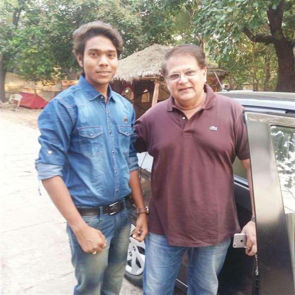 On Shoot Marathi Movie Me With Mahesh Kothare Sir