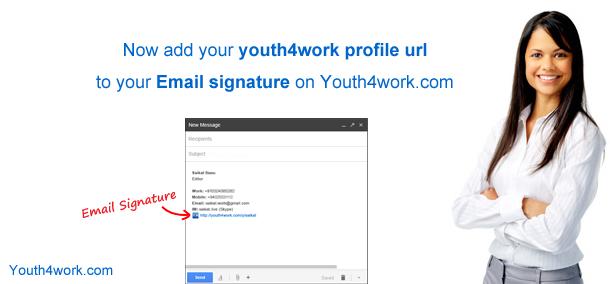 Email  signature...