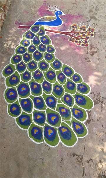 Art works, mastiiiii #Alluru Keerthi Reddy!!!!!!!!!!