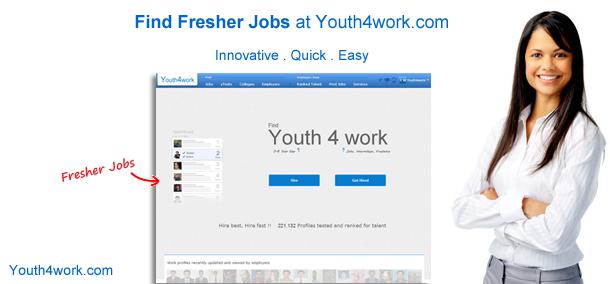 Best fresher jobs...