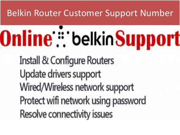 Belkin tech support