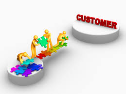 Keep up with the customer, or they will leave you behind