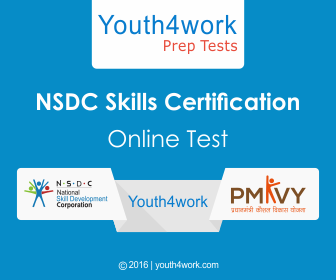 NSDC Skill Test@Youth4work