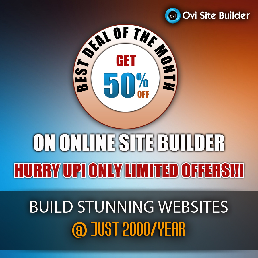 Make your own Website Today @ 2000/Year