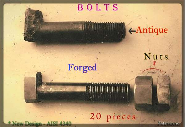Forged Bolts and Nuts - New Design