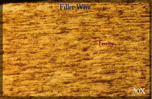 Quality Control - Low-Carbon Filler Wire (3,18 mm) - Submerged-Arc Welding