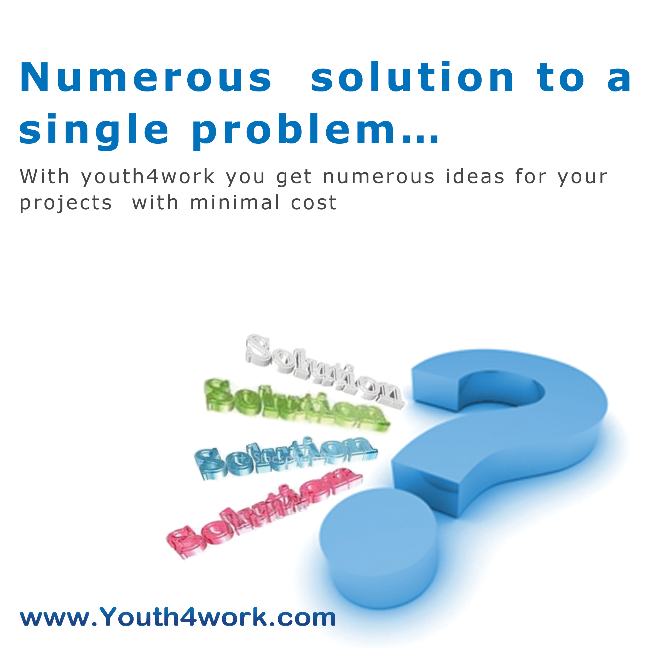 Numerous solution to a single problem