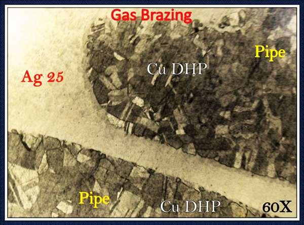 Quality Control - Gas Brazing - Metallurgical Analysis