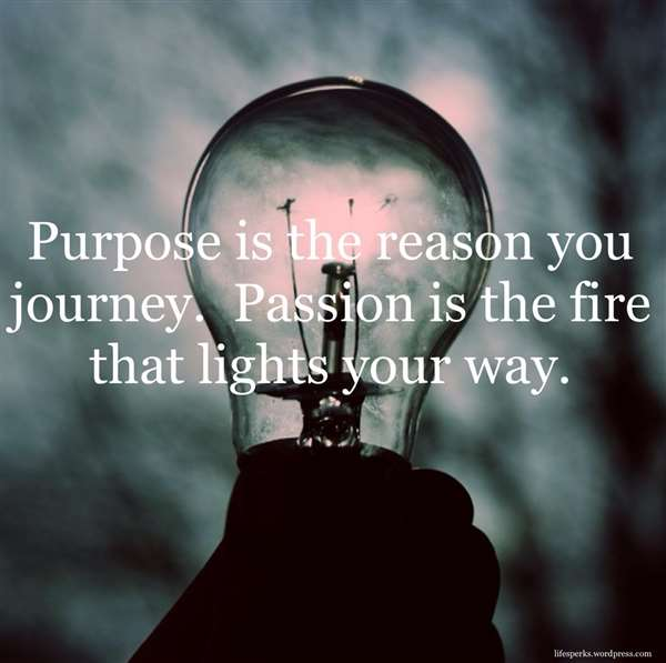 Be Passionate!!