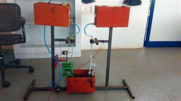 Coolant Oil Automation system Using PIC Controller