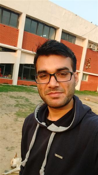 This is me Sanjeev Malhotra