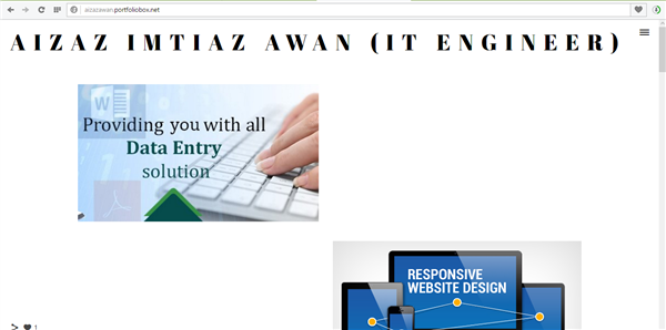 Aizaz Imtiaz Awan (IT Engineer)