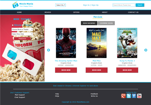 Movie Reservation System