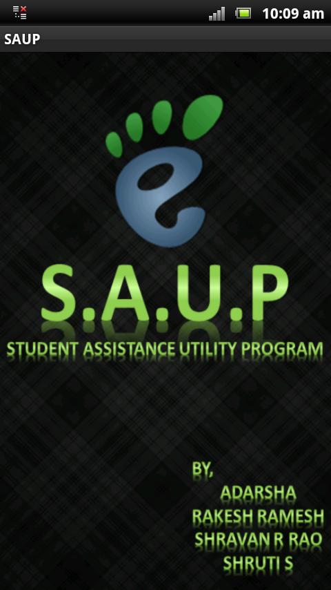 Student Assistance Utility Program