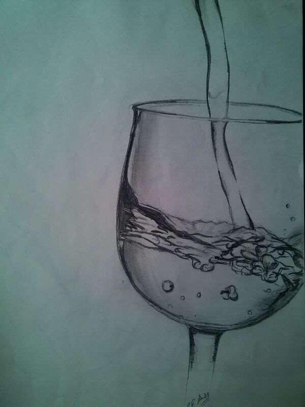 Water in Goblet