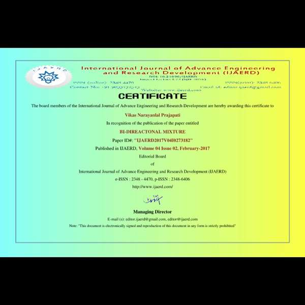 Paperpublishedcertificate
