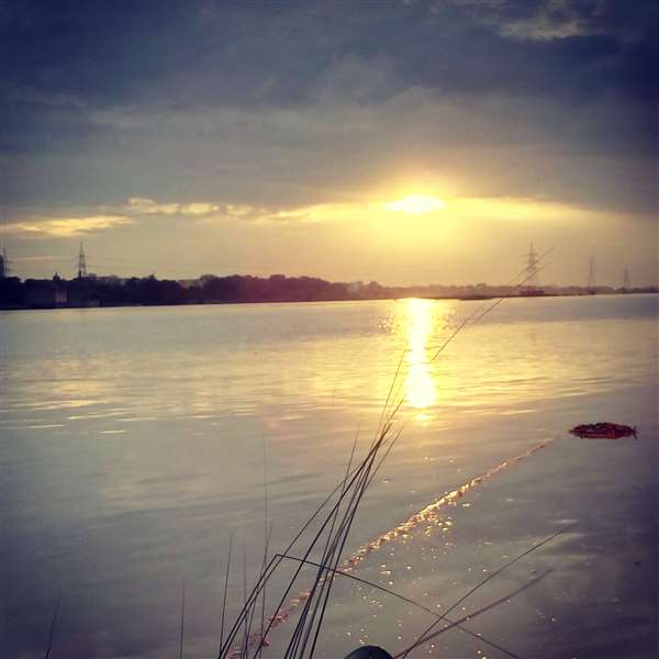 Sunset Ganga
