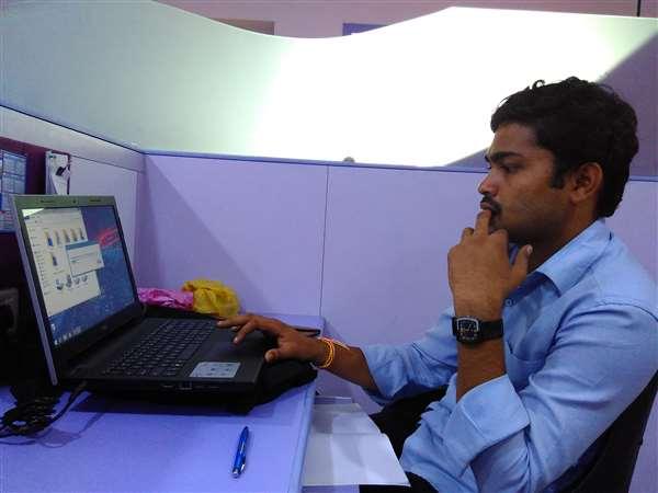 i´m in my office