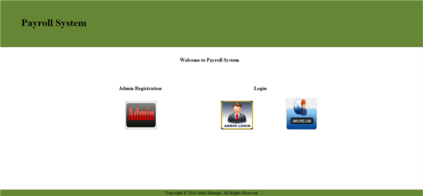 Payroll System Web Application