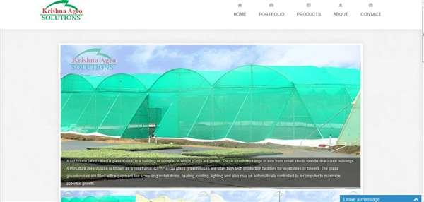 krishnaagrosolutions Websites Designed
