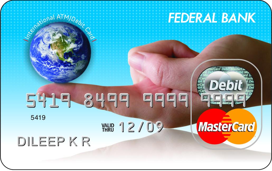 Federal Bank ATM Card Design