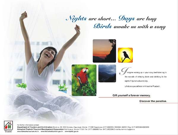Himachal Tourism Advertisement