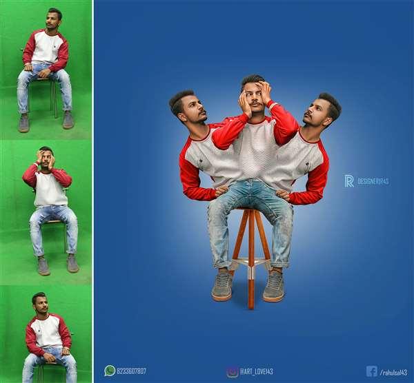 Creative manipulation in photoshop