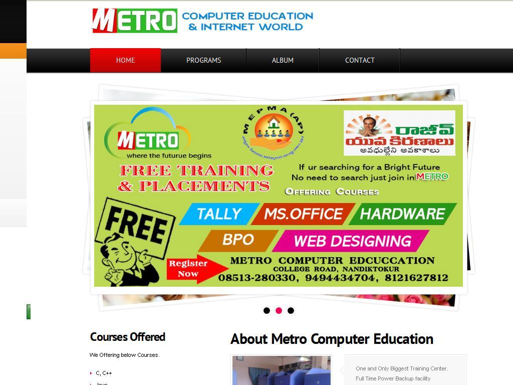 Metro Computer Education