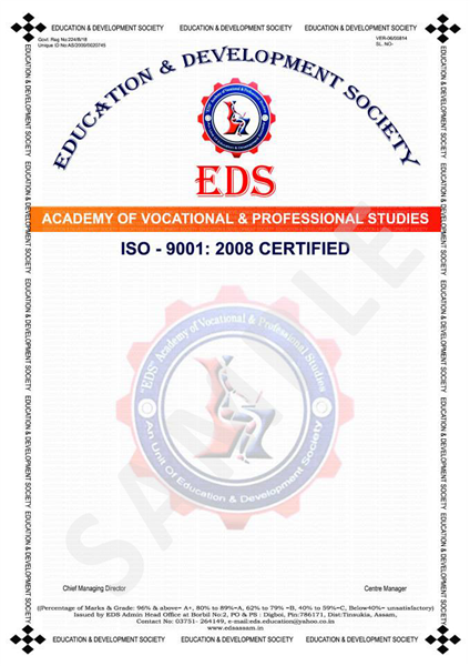 Certificate & logo design for educational Institute