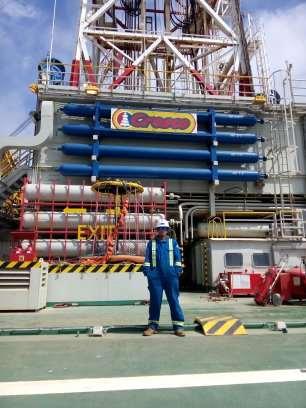ENI Drilling operation at Mediterranean Sea