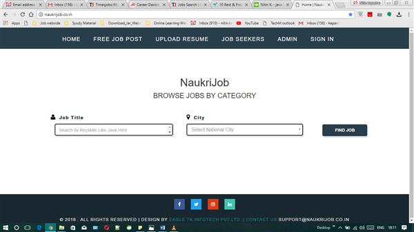 Job Searching Portal