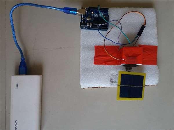 Sun Tracking Solar Panel Using Arduino Time Control