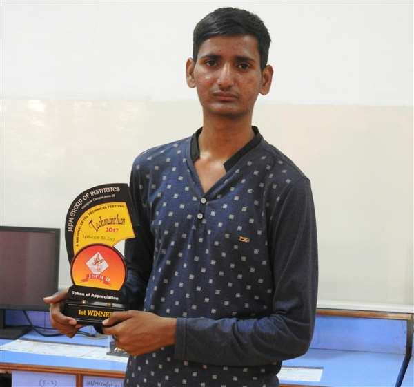 First prize in project competition