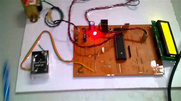 "Done a Project named ""Factory worker alchol detector with automatic  machine shutdown """