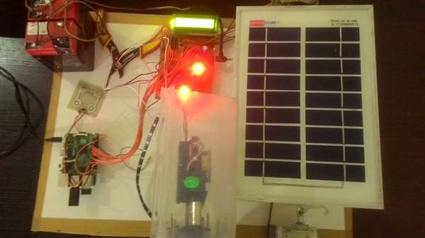 Implemention Of solar panel based multi mobile charger using IOT